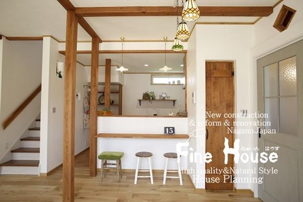 小上がり畳スペースのある家・長野県千曲市