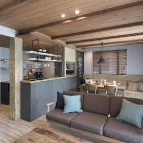 おしゃれと健康を合わせたヴィンテージ風自然素材の家