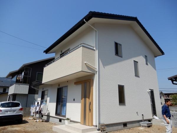 快適なオール電化の新築の家