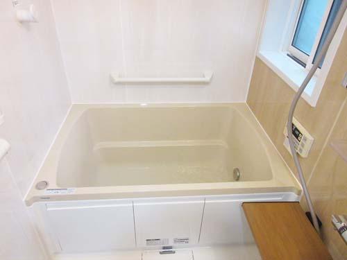 45cm増築 浴室リフォーム